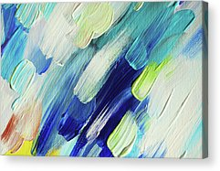 Living Healing Color Therapy - Decolores Acrylic Prints