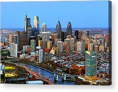Urban Scene Acrylic Prints