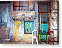 Dilapidation Acrylic Prints
