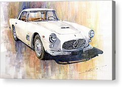 Old Car Acrylic Prints