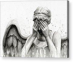 Angels Acrylic Prints