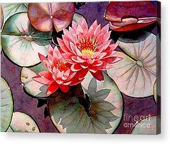 Lotus Pond Acrylic Prints
