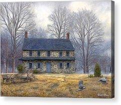 Amish Acrylic Prints