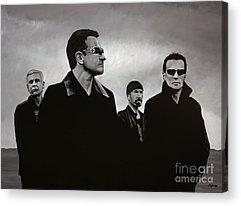 Bono Acrylic Prints