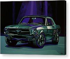 Classic Vehicle Acrylic Prints