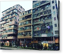 Hongkong Acrylic Prints