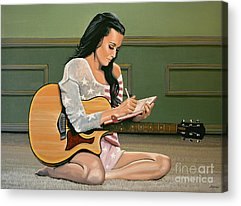 Katy Perry Acrylic Prints