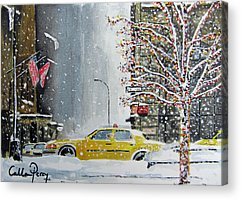 Designs Similar to Catch A Snow Cab by Callan Art