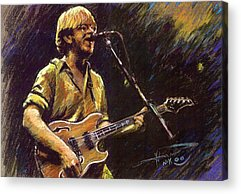 Rock And Roll Star Acrylic Prints