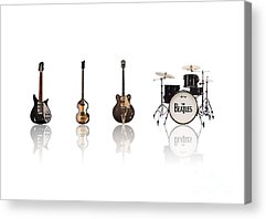Paul Mccartney Beatles Acrylic Prints