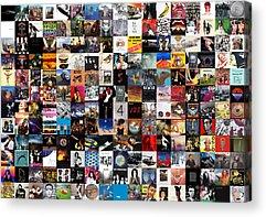 The Beatles Rock N Roll Acrylic Prints