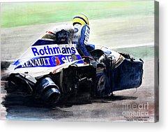 Formula One Acrylic Prints