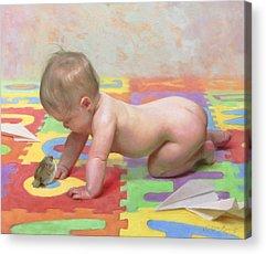 Baby Acrylic Prints