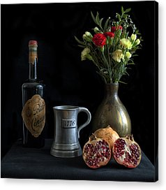 Wine Art Paining Acrylic Prints