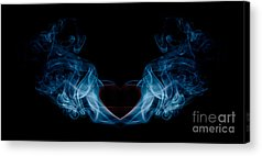 Burning Heart Acrylic Prints