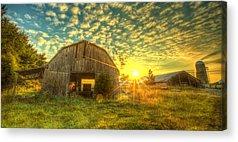 Tennessee Barn Acrylic Prints