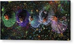 Ball Gown Digital Art Acrylic Prints