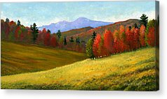 New England Autumn Acrylic Prints