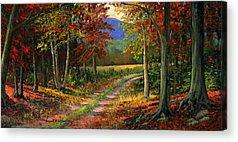 Colors Of Autumn Acrylic Prints