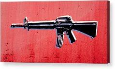 Guns Acrylic Prints