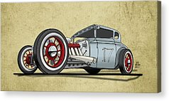 Old Cars Acrylic Prints