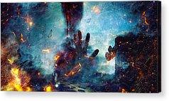 Ghoul Digital Art Acrylic Prints