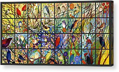 Hummingbird Acrylic Prints