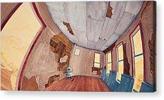One Room Schoolhouse Acrylic Prints