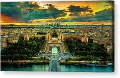 Plaster Of Paris Digital Art Acrylic Prints