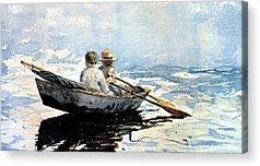 Rowing Acrylic Prints