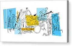 Clarinet Acrylic Prints
