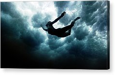 Swim Acrylic Prints