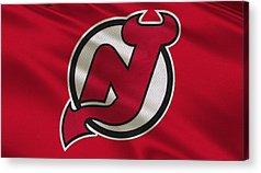 New Jersey Devils Acrylic Prints