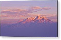 Orange Sunset Acrylic Prints