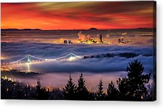 Vancouver Photographs Acrylic Prints