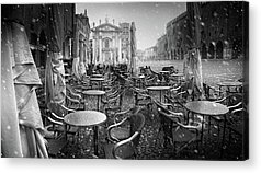 City Cafe Acrylic Prints