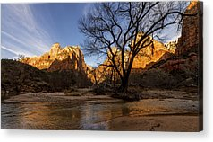 Zion National Park Photographs Acrylic Prints