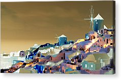 Tcity Digital Art Acrylic Prints