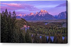 Grand Tetons Acrylic Prints