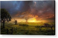 Farmhouse Acrylic Prints
