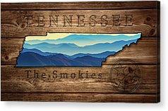 The Great Smoky Mountains Acrylic Prints