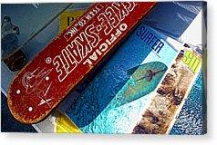 Surfer Magazine Acrylic Prints