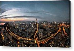 Rooftops Acrylic Prints