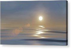 Peaceful Scene Digital Art Acrylic Prints