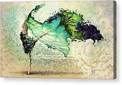 Freedom Paintings Acrylic Prints