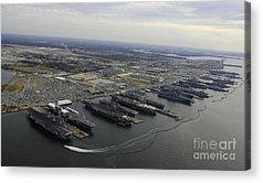 Norfolk Naval Station Acrylic Prints
