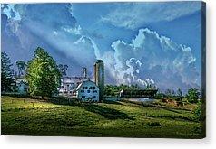 Amish Farms Photographs Acrylic Prints