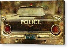 Patrol Cars Acrylic Prints