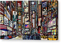 Pedestrian Acrylic Prints