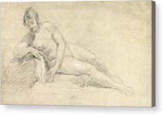Naked Female Acrylic Prints